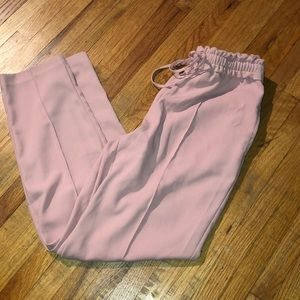 Zara Blush Drawstring Pants